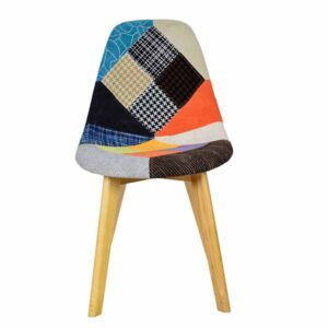 Henry Fancy Patch Work Interior Chair-1