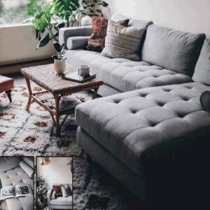 John Modern l Shaped Sofa Lahore