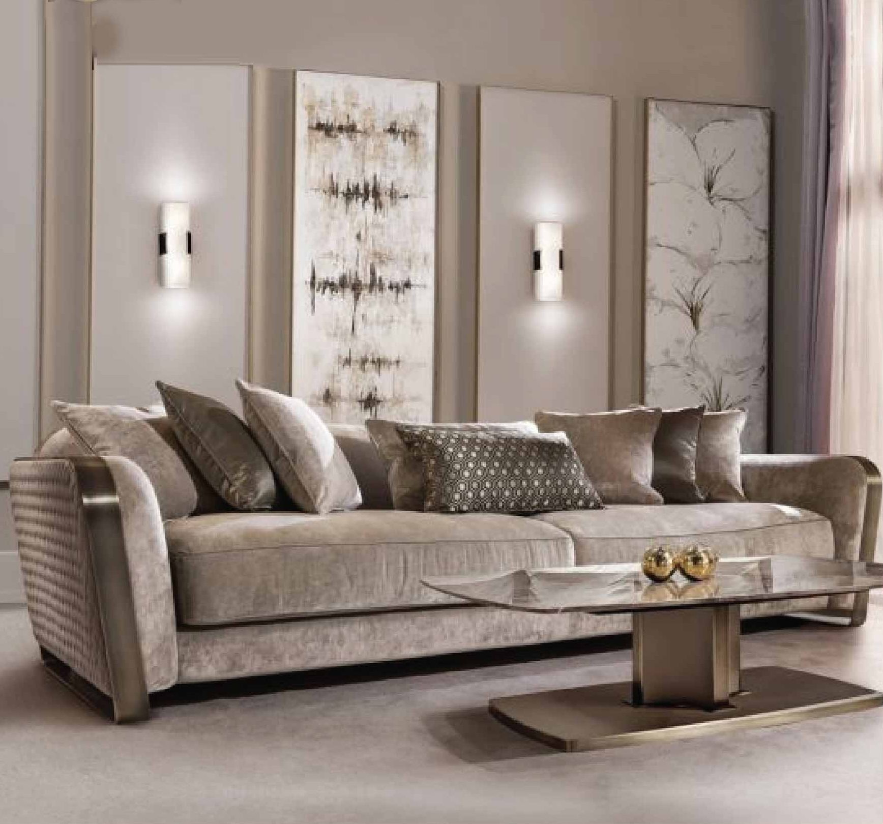 William Luxury Drawing Room Sofa