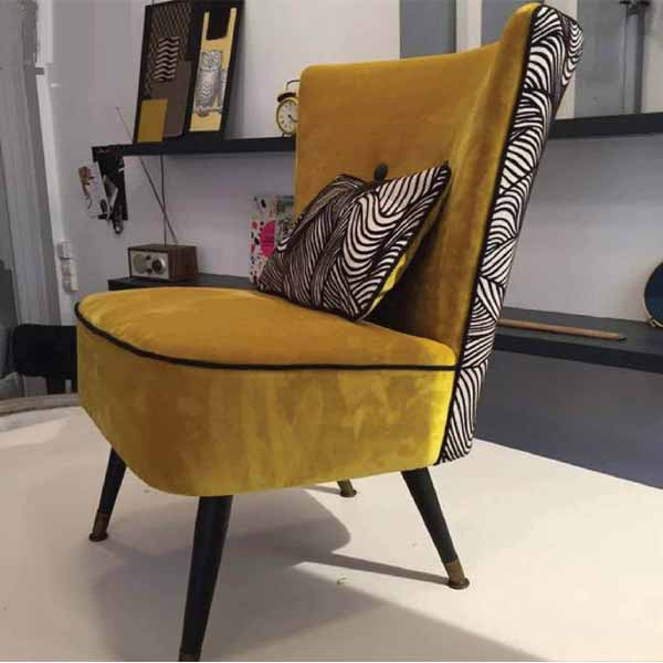 Madeline Stylish Chairs For Drawing Room