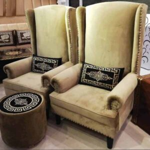 Kingston Designer Chairs For Drawing Room
