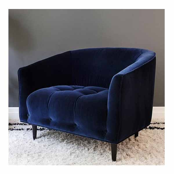 Lillian Single Fancy Sofa Chair