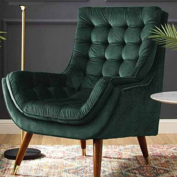 Alyssa Green Drawing Room Chair