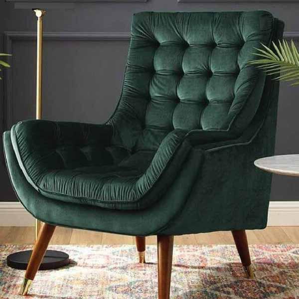 Alyssa Green Drawing Room Chair
