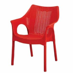 Tucker Plastic Chair Red pakistan