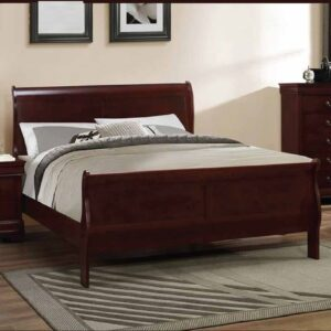 Finlay Modern Wooden Bed