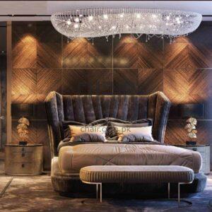 Clara Luxury Upholstered Bed