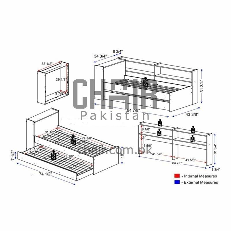 Oscar Single Bed Pakistan