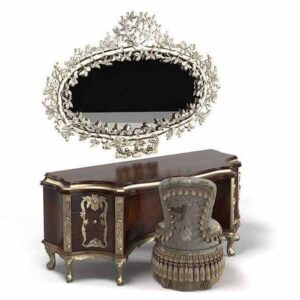 Logan Dressing Table with Mirror