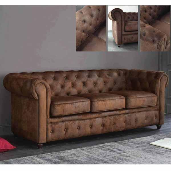 Jordan Office Leather Sofa