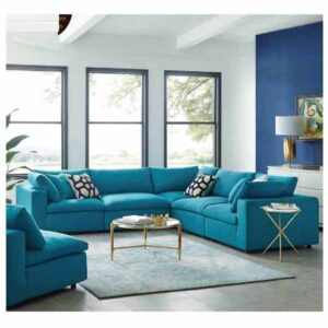 Modern Corner Shape Bedroom Sofa