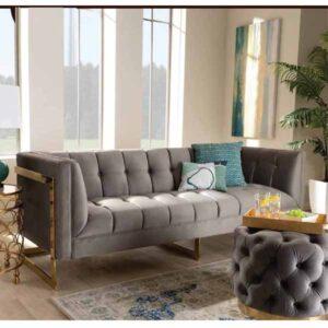 Brass Drawing Room Sofa