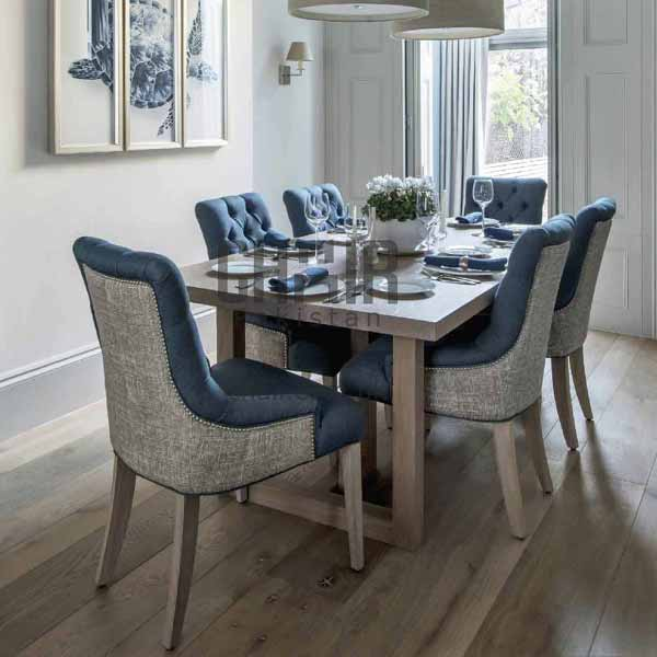 Lyla Pure Wooden Dining Table Set