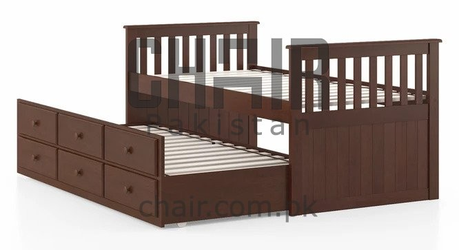 Archie Single Bed with Storage