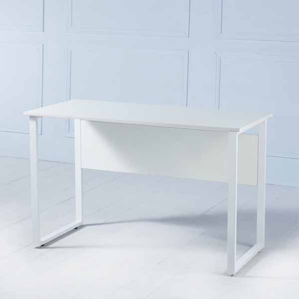 Parker White Desk with Drawers