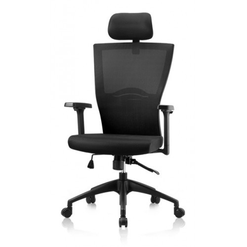 New Black Korean Chair