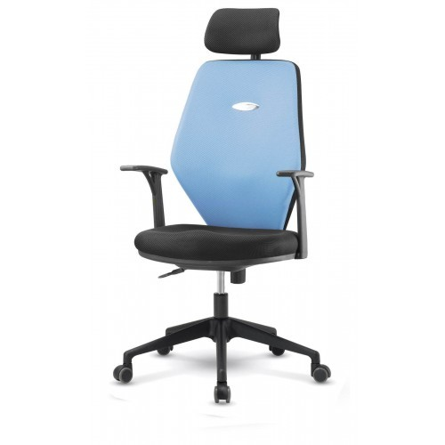 Blue Korean Chair