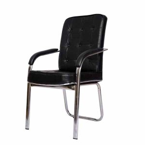 Montay Black Visitor Chair