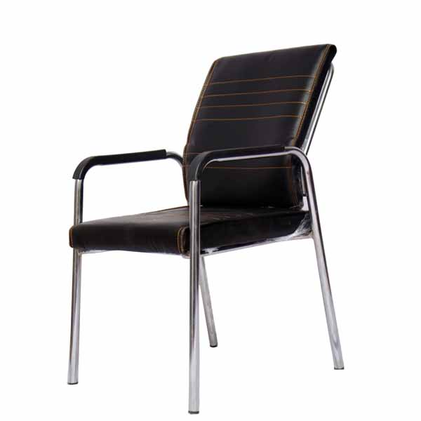 Adriana Black Visitor Chair