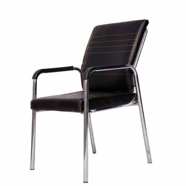 Adriana Black Visitor Chair