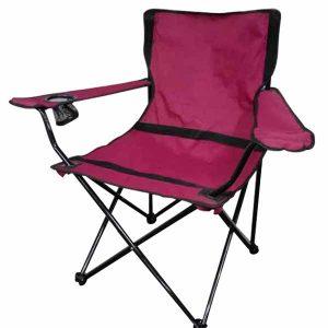 Markhor Maroon Camping Chair Pakistan
