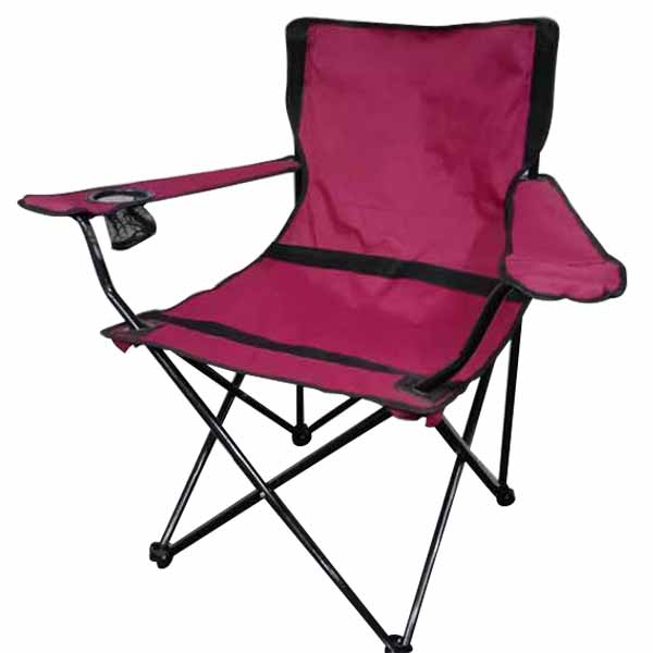 Markhor Maroon Camping Chair Pakistan