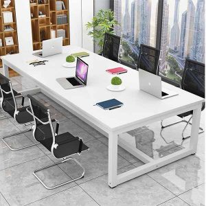 Layla White Conference Table