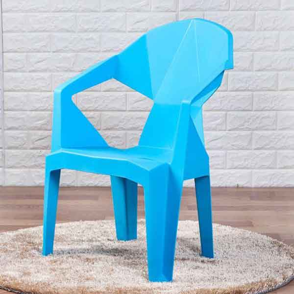Stella Plastic Stackable Chair (Blue)