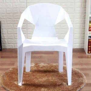 Stella Plastic Stackable Chair (white)
